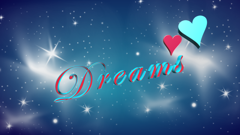 Dreamsと書かれたイラスト
