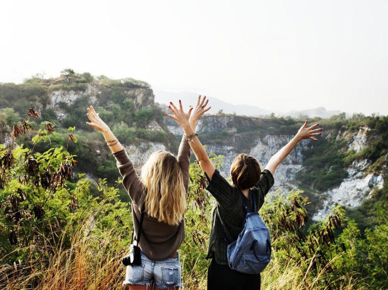 女友達と旅行