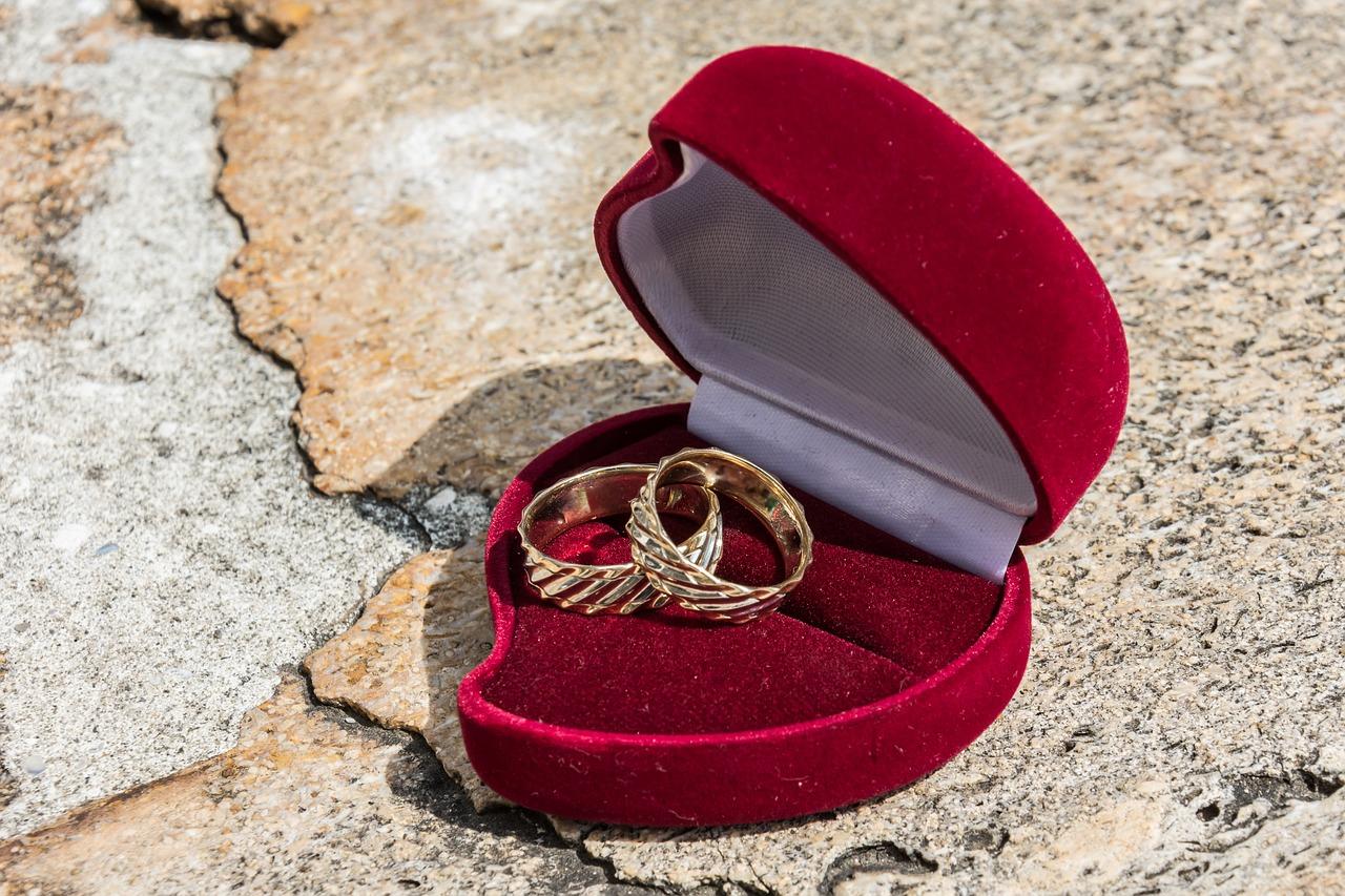 二人の結婚指輪