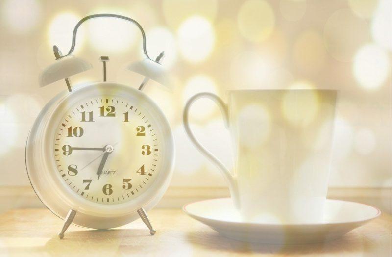 彼女の目覚まし時計