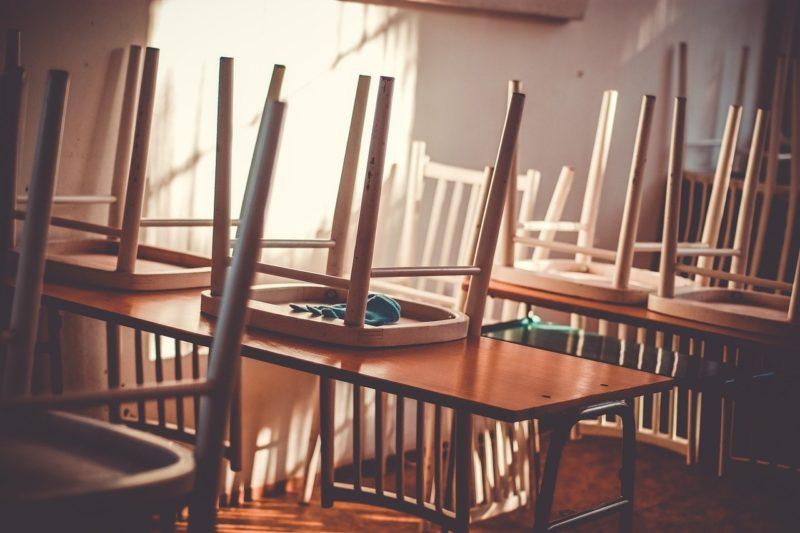 会議をしてきた教室