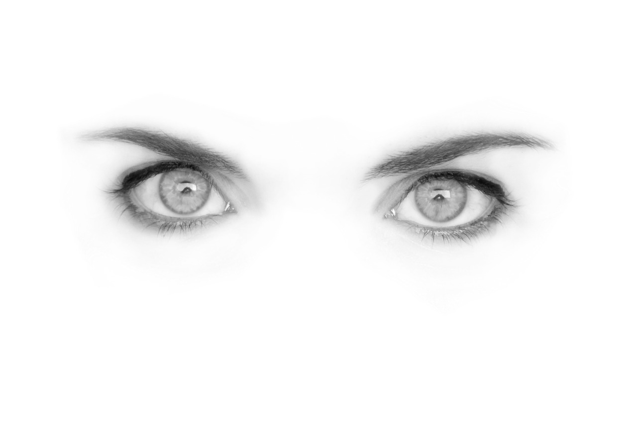 結婚を直感した女性の瞳