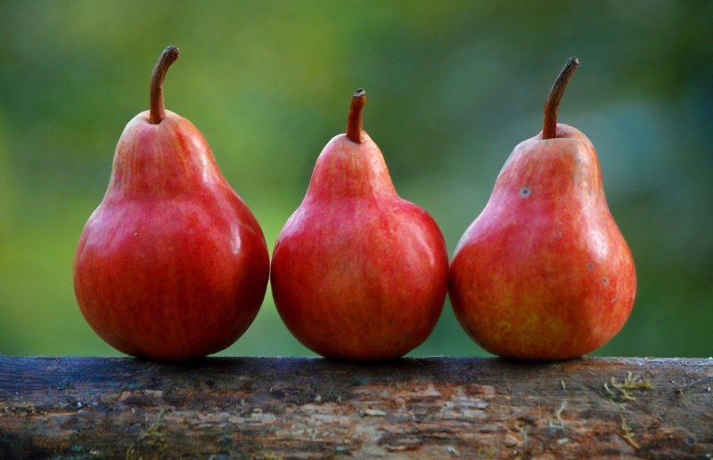 3つのポイントを意味するリンゴ