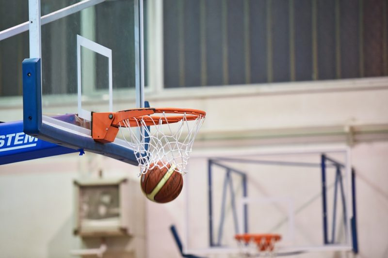 バスケットボールフープ