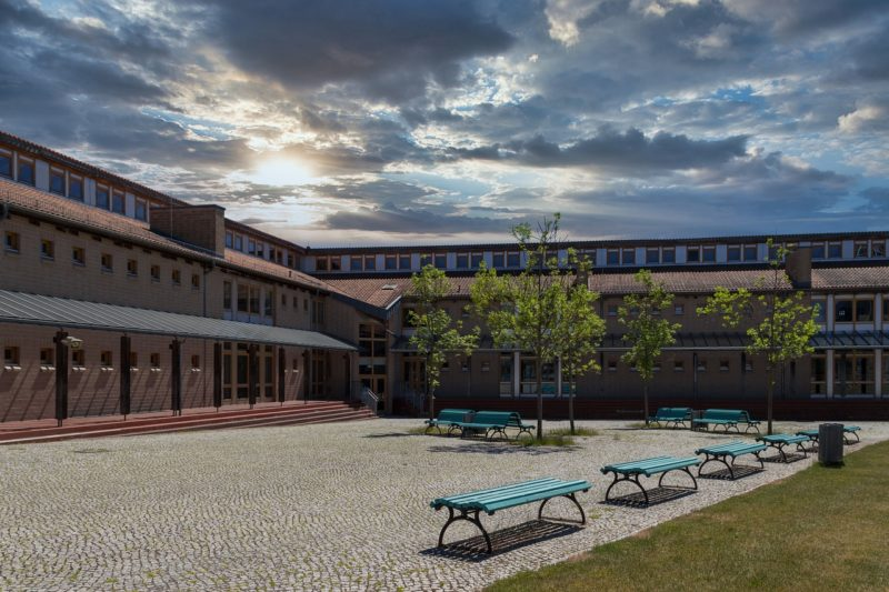 通う高校の校舎