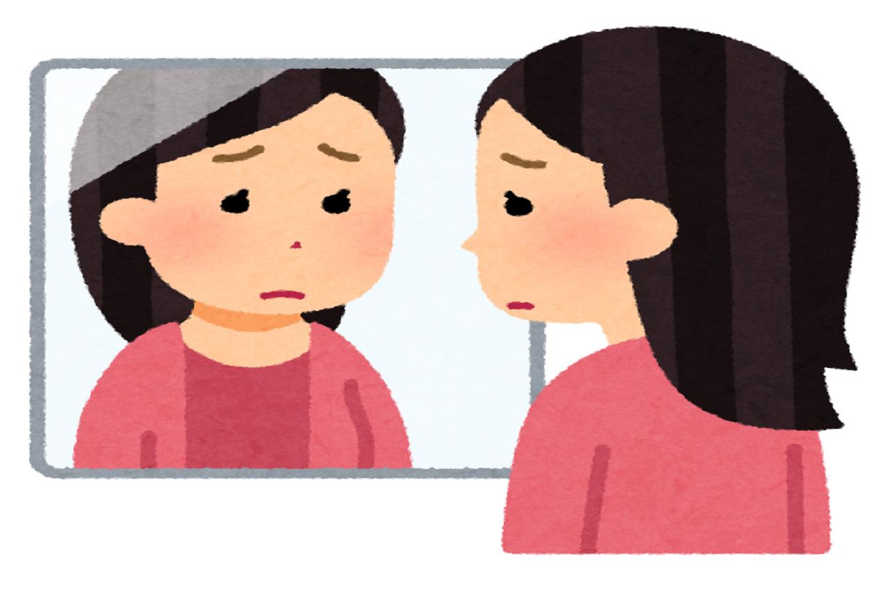 バイトの面接で不採用が続き理由は顔かと心配する女性