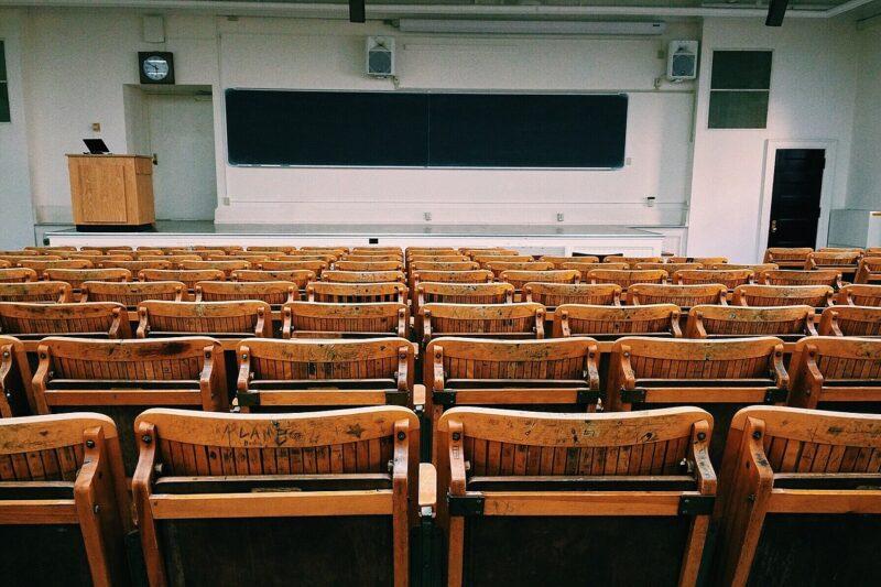 通ってる大学の教室