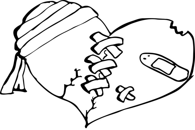 好きな男性とLINEのやり取りで関係修復を図ることを意味するハート