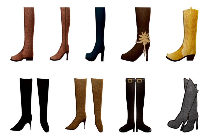 友達に真似をされた数々の靴